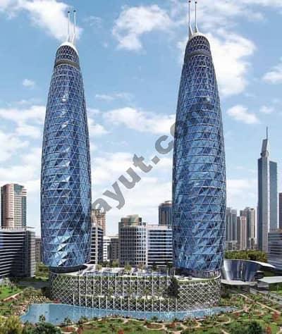 فلیٹ 1 غرفة نوم للبيع في مركز دبي المالي العالمي، دبي - Park Towers Exterior View 1