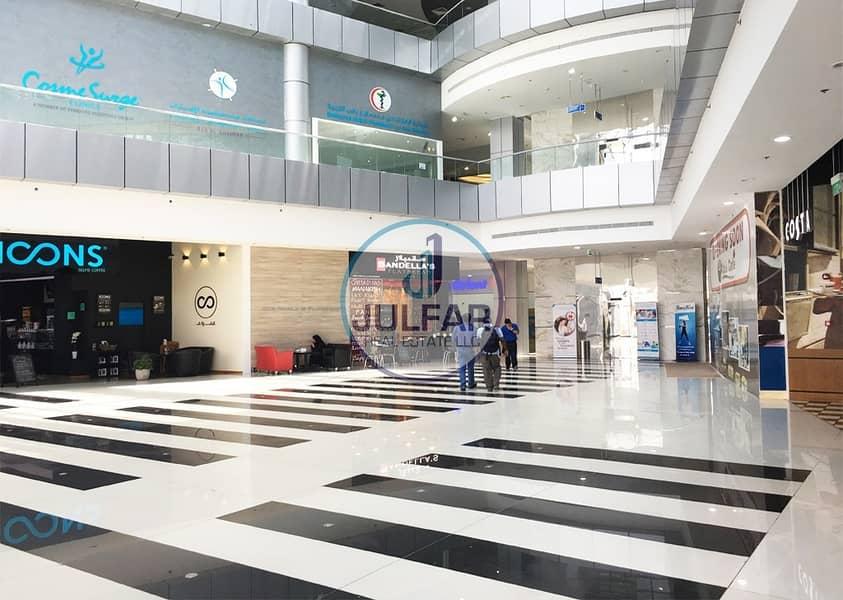 24 studio apartment for rent in Julphar Residential Tower