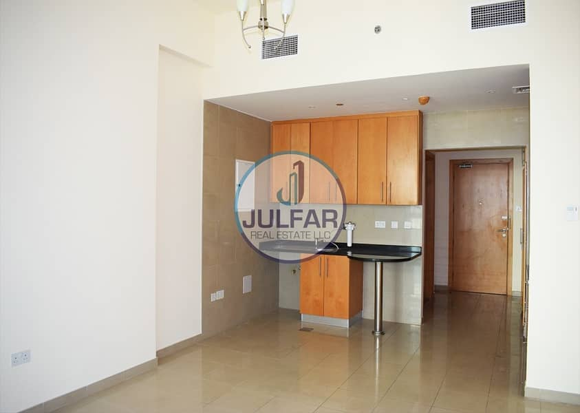 2 studio apartment for rent in Julphar Residential Tower