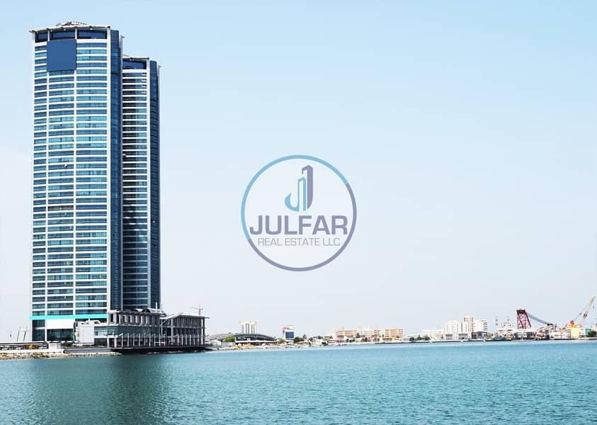 studio apartment for rent in Julphar Residential Tower