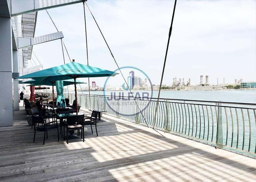 10 studio apartment for rent in Julphar Residential Tower