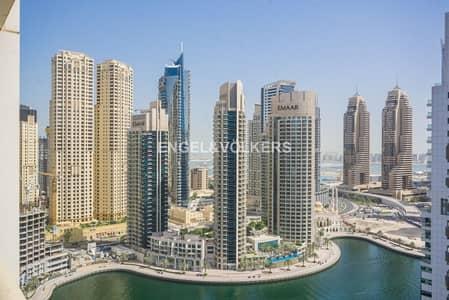 2 Bedroom Apartment for Rent in Dubai Marina, Dubai - Marina View  2  Bedroom  Fully Furnished