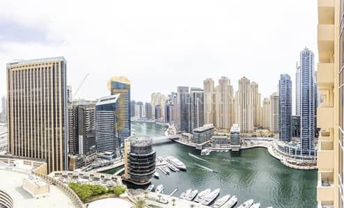 Studio for Sale in Dubai Marina, Dubai - Stunning and Bright Marina View Studio