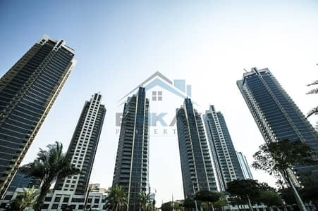 Vacant 2BR on high floor with Burj Khalifa view