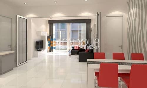 Fully Furnished Studio For Sale in Al Furjan at 1% Per Month