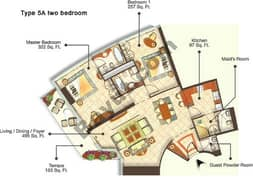 Two Bedroom Type 5A
