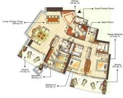 4 Bedrooms (Type 1)