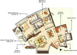 5 Bedrooms (Type 1)