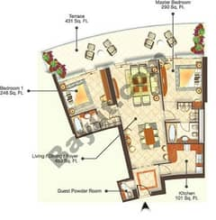 6 Bedrooms (Type 1)