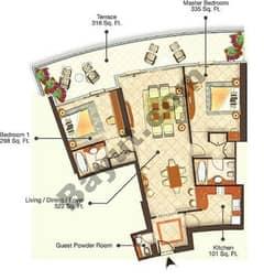 6 Bedrooms (Type 2)