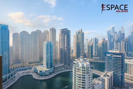 Studio for Sale in Dubai Marina, Dubai - Hotel Pool System | High Floor | Investment