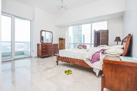 شقة 4 غرف نوم للبيع في دبي مارينا، دبي - Opulent Living | Large 4 BR Apt|Sea View