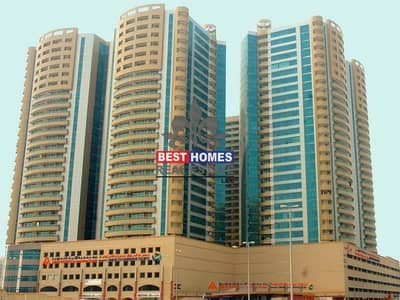 2 Bedroom Flat for Rent in Ajman Downtown, Ajman - Spacious 2 BHK for Rent in Horizon towers in Ajman