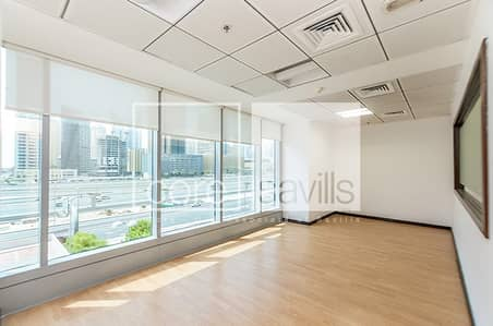 Fitted office available in Saba Tower 1.