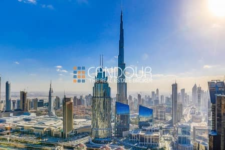 3 Bedroom Flat for Sale in Downtown Dubai, Dubai - Burj Khalifa View |Ready in Q1 2019|3 Bedroom |RP Heights