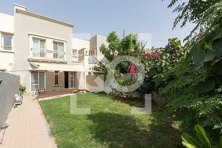 2 Bedroom Villa for Rent in The Springs, Dubai - Springs 14  Type 4m | 2 Bedroom + Study  Ready Garden