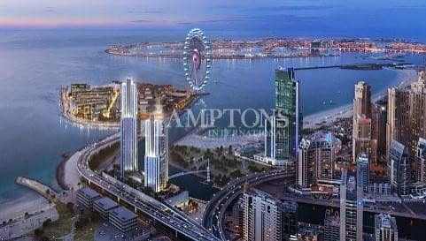 2 Bedroom Apartment for Sale in Dubai Marina, Dubai - Ultra-luxury waterfront 2BR | 5242