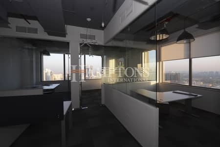Fitted office unit in TECOM FZ for Rent