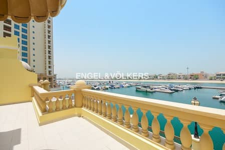 2 Bedroom Townhouse for Rent in Palm Jumeirah, Dubai - Study