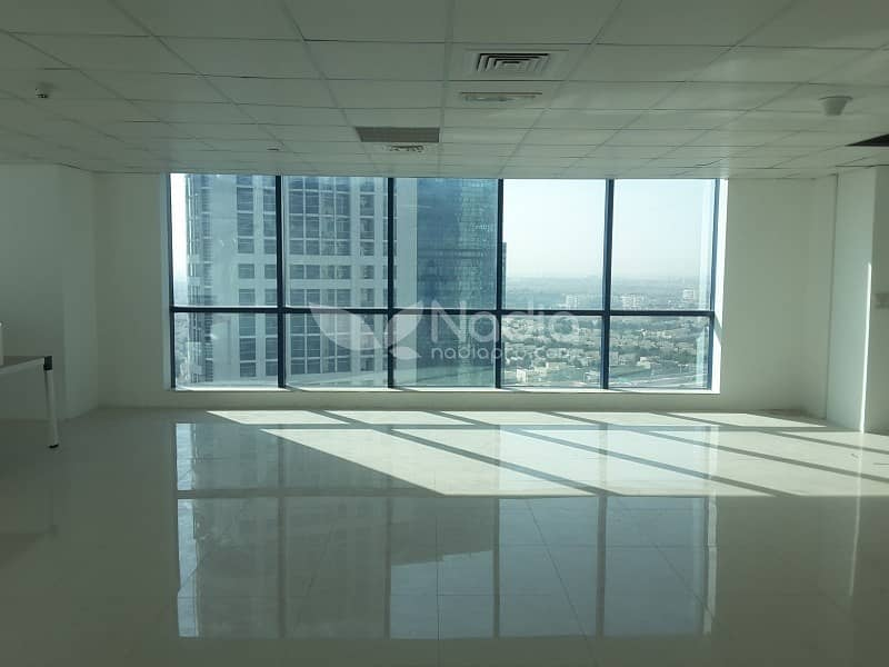3  Fitted Office with Panoramic Windows