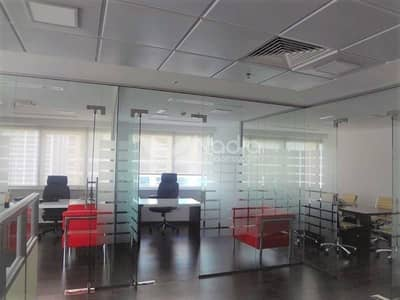 Fitted and Fully Furnished Office | HDS Tower | JLT | For Rent