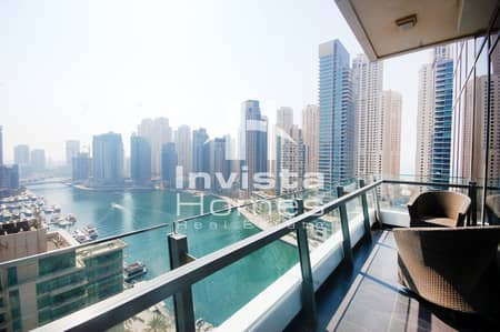 Unique 2 Bedrooms  Apartment  | Full Marina View  | Corner Unit