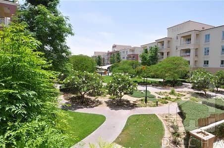 Corner unit with garden views. Available now.