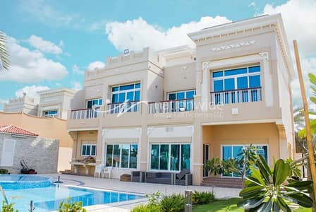 5 Bedroom Villa for Rent in Marina Village, Abu Dhabi - Mesmerizing 5 BR Villa with Private Pool