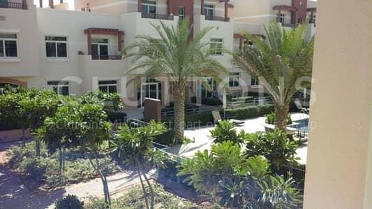 2 bedroom terrace apartment corner unit swimming pool view