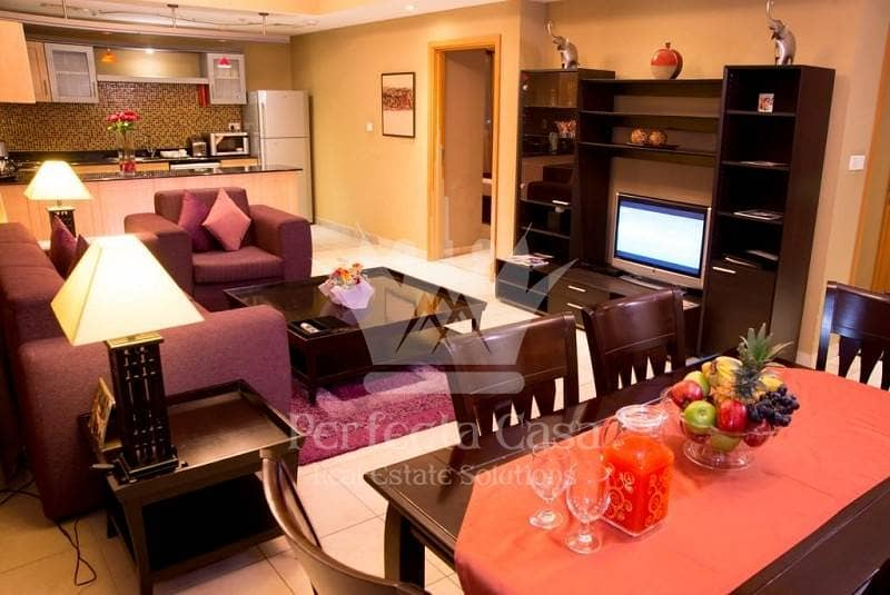 6 Great Offer Fully Furnished 1 Bedroom apartment in Al Barsha