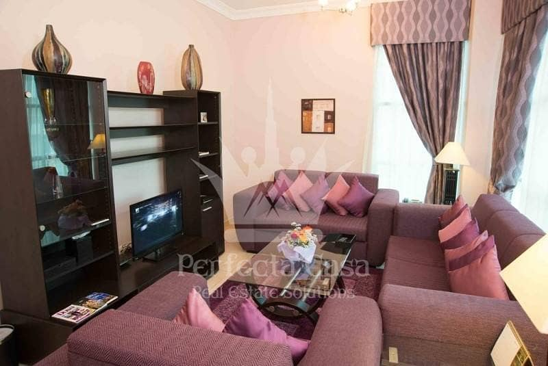 5 Great Offer Fully Furnished 1 Bedroom apartment in Al Barsha