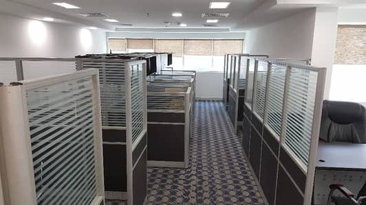 FULLY FURNISHED  CHILLER FREE 1-MONTH FREE READY OFFICE PANTRY TOILET 988SQFT 95K
