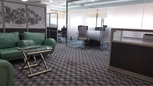 FULLY FURNISHED  PARTITION OFFIC E  CHILLER FREE 988SQFT 95K