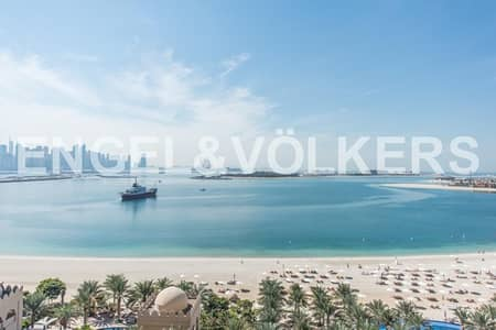 3 Bedroom Apartment for Sale in Palm Jumeirah, Dubai - Breathtaking Sea View 3BR in Fairmont