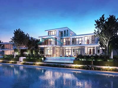 6 Bedroom Villa for Sale in Tilal Al Ghaf, Dubai - Luxury Contemporary Villa | On the Beach
