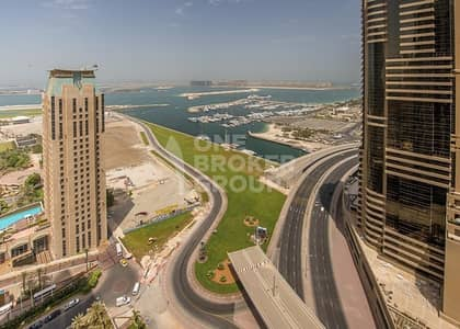 1 Bedroom Apartment for Sale in Dubai Marina, Dubai - Vacant 1 Bed with Sea View at High Floor