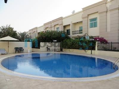3 Bedroom Villa for Rent in Al Badaa, Dubai - 3BR Compound Villa with pool and garden