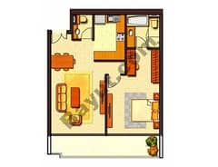 Typical 1 Bedroom 6