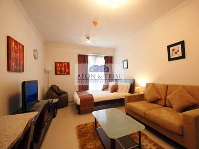 Fully Furnished Studio for RENT in Goldcrest Executive!!