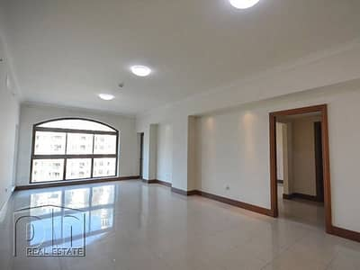 شقة 2 غرفة نوم للبيع في نخلة جميرا، دبي - Price reduced C type large balcony facing park