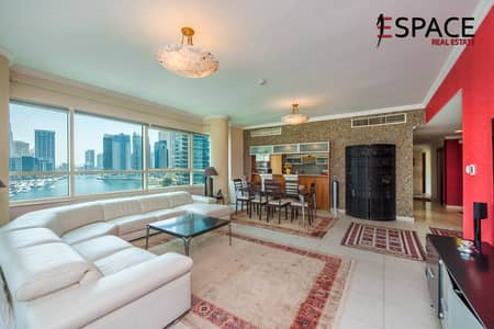 3 Bedroom Apartment for Sale in Dubai Marina, Dubai - Immaculate Condition | 3 Beds | Marina View