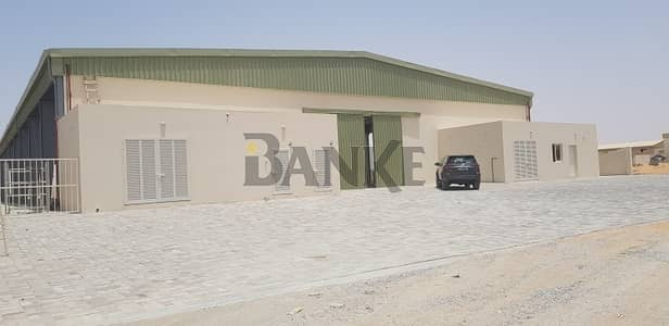 Warehouse for Rent in Emirates Modern Industrial Area, Umm Al Quwain - 30K sq. ft.  Open industrial shed