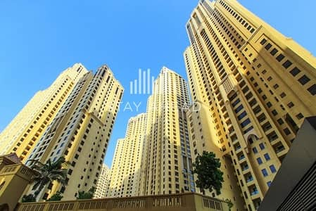 Large Studio in JBR with a Full Sea View