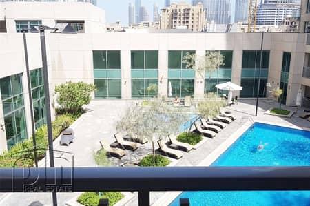 Huge Studio with Balcony and Khalifa view