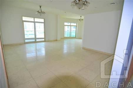 3 Bedroom Apartment for Rent in Dubai Marina, Dubai - Unfurnished 3 Bed Apt + Maids