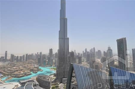3 Bedroom Flat for Sale in Downtown Dubai, Dubai - High floor 06 unit with sea and burj view