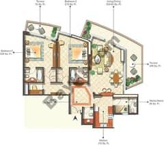 5th Type E02 2 Bedroom
