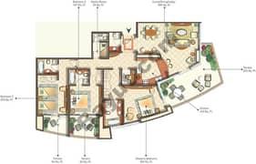 4th Type E01 3 Bedroom