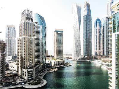 3 Bedroom Apartment for Rent in Dubai Marina, Dubai - High floor 3 BR + Maids + Study - Full Marina View