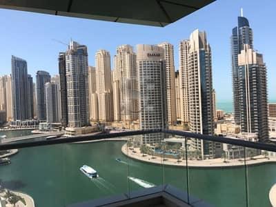 3 Bedroom Flat for Sale in Dubai Marina, Dubai - Spacious 3 Bedroom+Maids+Study in Trident Bayside - Full Marina View